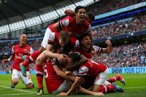Manchester+City+v+Arsenal+-+Premier+League