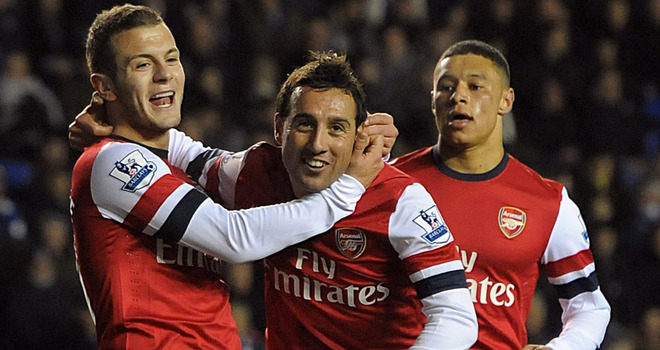 Reading-v-Arsenal-Santi-Cazorla-celeb-hattri_2875687-1